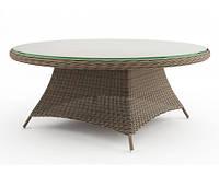 Стол Рондо 180 см Песочный, мебель для дома, мебель для ресторана, мебель для бассейна, мебель для сада