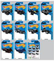 Автомобиль Hot Wheels серии Бэтмен 10 моделей