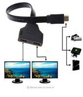 HDMI в 2x HDMI сплиттер Y кабель с 1 HDMI на 2