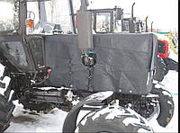 Утеплитель МТЗ-82,1(чехол капота) под квадратные фары ЧК-82,1