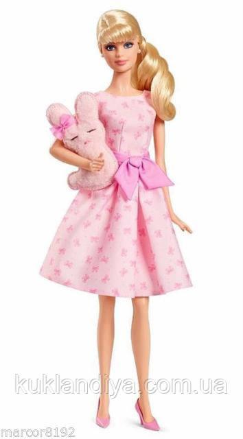 Колекційна лялька Барбі з зайчиком - Barbie Collector it's A Girl
