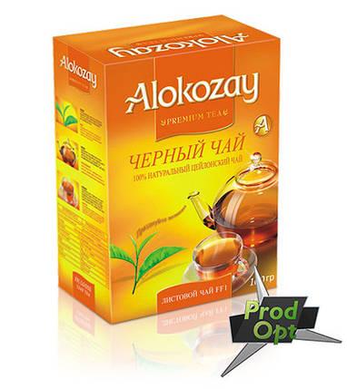 Чай Alokozay чорний FF1 (дрібний лист) 100г , фото 2
