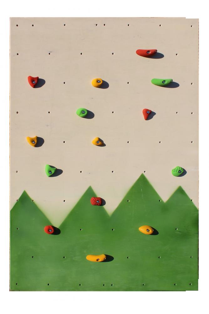 Детский скалодром для дома «Лесочек» Kidigo 1,25*2 м