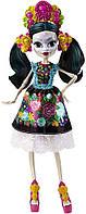 Коллекционная кукла Monster High Скелита Калаверас, фото 1