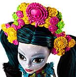 Колекційна лялька Monster High Скелита Калаверас, фото 3