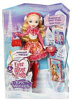 Кукла Ever After High  Epic Winter Apple White Doll Эппл Вайт Зачарованная зима