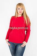 Джемпер кофта вязаный р.50-56 цвет красный Y35726