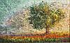 Оригинальная картина пейзаж Солнечный свет
