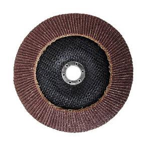 Диск шлифовальный лепестковый 180 * 22мм зерно K60 INTERTOOL BT-0226, фото 2