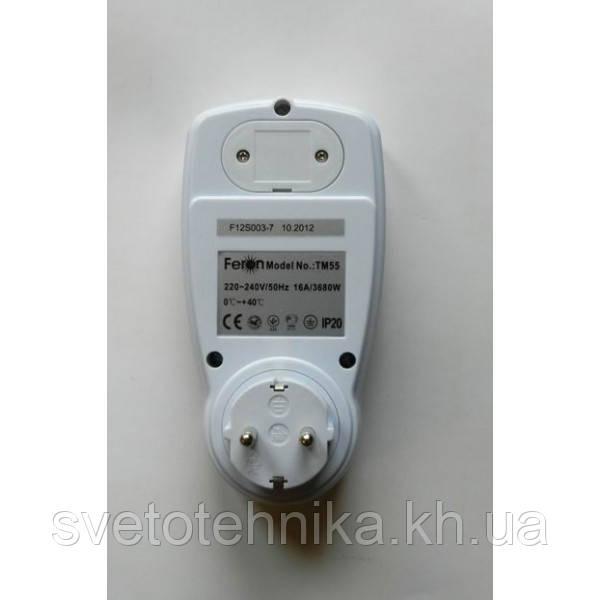 Энергометр (измеритель мощности и расхода электроэнергии) Feron TM55 3680W 230V - фото 6