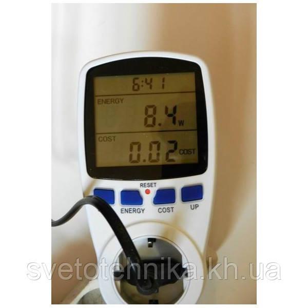 Энергометр (измеритель мощности и расхода электроэнергии) Feron TM55 3680W 230V - фото 4