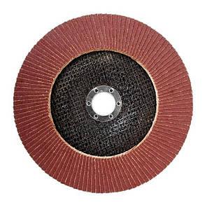 Диск шлифовальный лепестковый 180 * 22мм зерно K150 INTERTOOL BT-0235, фото 2