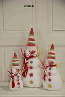 Декоративный снеговик , фото 1