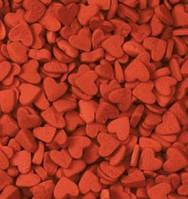 Посыпка сердечки красные 50 грамм
