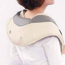 Ударный вибромассажер для спины, плеч и шеи Cervical Massage Shawls, фото 2