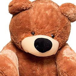 Большая мягкая игрушка: Плюшевый Медведь Бублик, 180 см, Коричневый