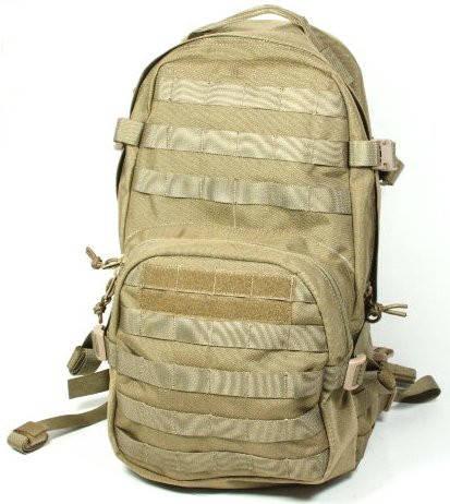 Надежный милитари рюкзак 17 л. TMC Compact Hydration Backpack Khaki, TMC0859 (Хаки)