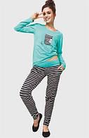Стильная женская пижама  Key LNS 602 В6