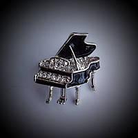 Брошь рояль с эмалью