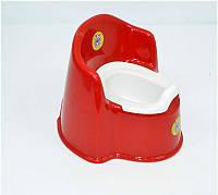 """Гр Горшок-кресло детский - съёмный стакан (10) - цвет красный """"K-PLAST"""""""