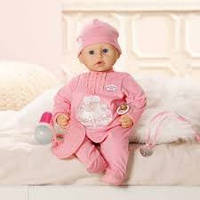 Интерактивный Пупс Настоящая малютка Baby Annabell Zapf Creation 792810, фото 1