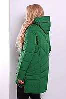 Куртка пуховик женский зеленый 44-52