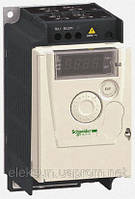 Преобразователь частоты серии Altivar 12 мощность 0,18 кВт, 1ф, 230B, Schneider Electric,ATV12H018M2