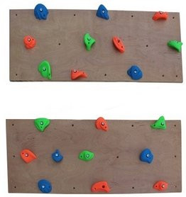 Траверсная стена скалодром Шаги Kidigo 1,25*0,5 м