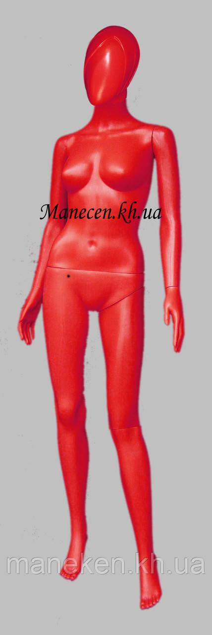 Манекен объемный женский в полный рост Сивоян красный