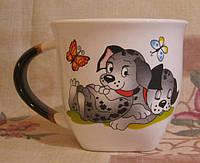 Чашка широкая (долматинцы), фото 1