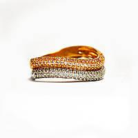 Золотое кольцо с цирконием 98606