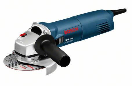 Углошлифмашина Bosch GWS 1400 (0601824800) Картон, фото 2