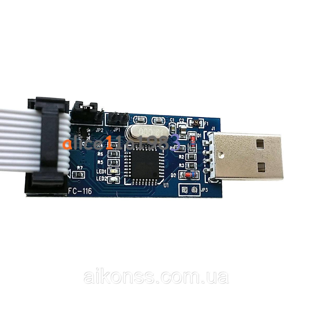 USBASP Програматор AVR USB ASP ЯКІСТЬ А+++ !!!
