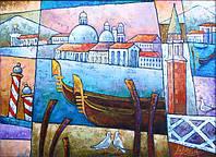 Картина на тему Венеции. Декорирование дома, картина для дома
