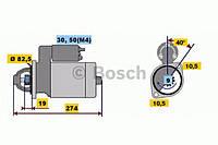 Стартер BOSCH 0001218011, 0001218122, 0986013100; HC PARTS CS356; LAUBER 220356 на Opel Frontera, Omega