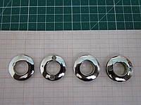 Люверс на винтах 26 х 14 мм никель