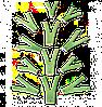 Детский скалодром «Невероятные веточки» Kidigo 1,6*1,3 м