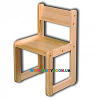 Стульчик игровой деревянный 34 см Ласка-М KM-02.SDI34