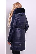 Пуховик женский двойка  куртка и желает черная теплый 44-52 2 в 1, фото 2
