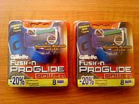 Сменные картриджи для бритья Gillette Fusion Power Proglide