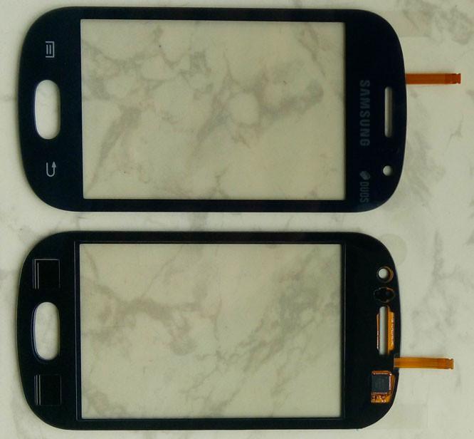 Сенсорний екран для смартфону Samsung S6810, тачскрін чорний