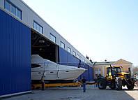 Ремонт, обслуживание, хранение и транспортировка яхт и катеров.