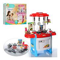 Детская игровая Кухня WD-B18 с посудой