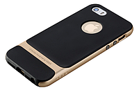 Чехол бампер Rock Royce Series для Apple iPhone 5 / 5S / 5SE - Gold