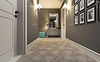 Плитка напольная Атем Hexagon Wood для коридора кухни