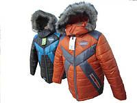 "Тёплая зимняя куртка на мальчика ""Riders"", фото 1"