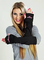 """Стильные длинные женские перчатки """"CHANEL"""", фото 1"""