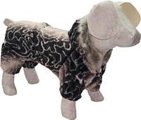 Комбинезон для собак Шубка той-терьер 25х28 (плюш)
