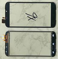 Doogee X6 тачскрін сенсор чорний оригінальний