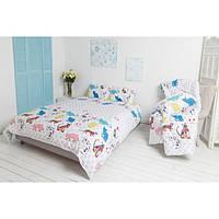 Комплект постельного белья Руно сатин Cat полуторный